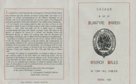 1892 Church Bazaar cover