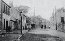 1904 High Blantyre Main Street Kirkton from Gilmours (PV)