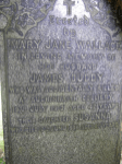 1913 Jimmy Duddy Gravestone