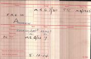 1914 Andrew Frew Medals