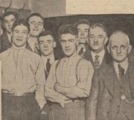 1933 Frank Markey, Blantyre boxer
