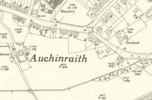 1936 Auchinraith map