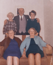 Late 1950's Nimmo Family