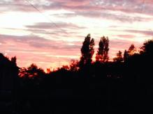 2015 Sunset on 28th September, shared by Nikki Murdoch
