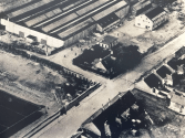 1955 Aerial Photo of Forrest Street, courtesy of G Lee.