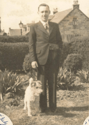 1929 Walter King, Broompark Road. Shared by Jean Boyd
