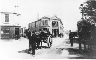 1890s Logan's Pub at Kirkton on left hand side
