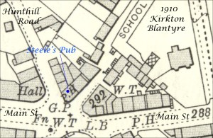 1910 Steele's Pub, Kirkton