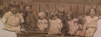 1930s Caldervale Children. Shared by H Reilly