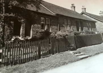 1950s Loanend Cottages. Shared with permission from residents