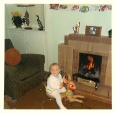 1971 Paul Veverka, first Christmas at Stonefield Crescent