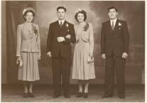 Late 1940s Donald Marshall marries Nettie. Shared by J Cochrane
