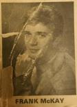 1968 Frank McKay of Livingstone Folk Four