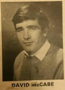 1968 David McCabe of Livingstone Folk Four