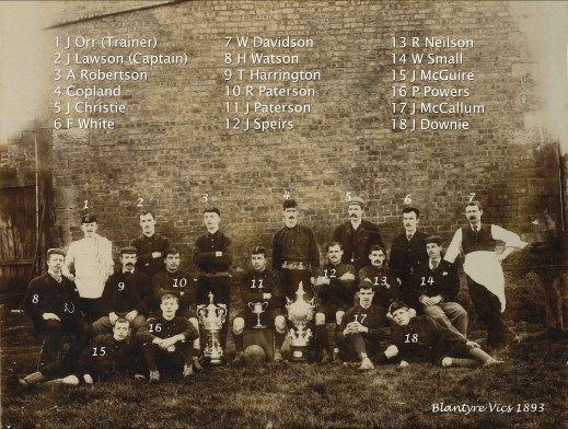1893 Blantyre vics named