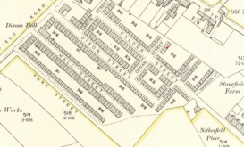 1898 Map showing Govan Street and likely position of number 3