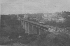 1920 Craighead Viaduct from Blantyre. by G Cook