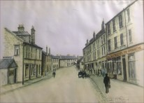 1920s High Blantyre painting by HT Rankine