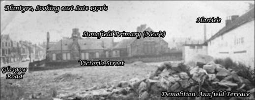 1970s Annfield Terrace & Hasties