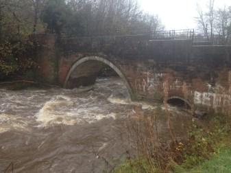Milheugh Bridge, Calder. Photo 15th Nov 2015 (PV)