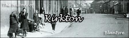Kirkton western end of High Blantyre