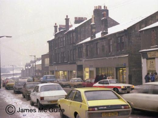 1970s Glasgow Road by J MGuire