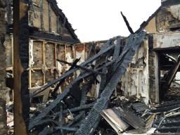 2015 Auchentibber Farm 8th Dec fire