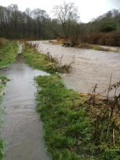 Milheugh Flooded out. Dec 2015. Photo by I Veverka