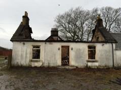 Auchentibber Farm House fire. Day after 9th Dec