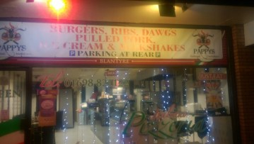 Pappys Smokehoose , Clydeview Shopping Centre