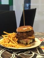 Burger at Pappys Smokehoose