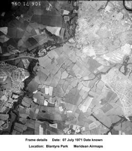 1971 Blantyre Aerial Photo