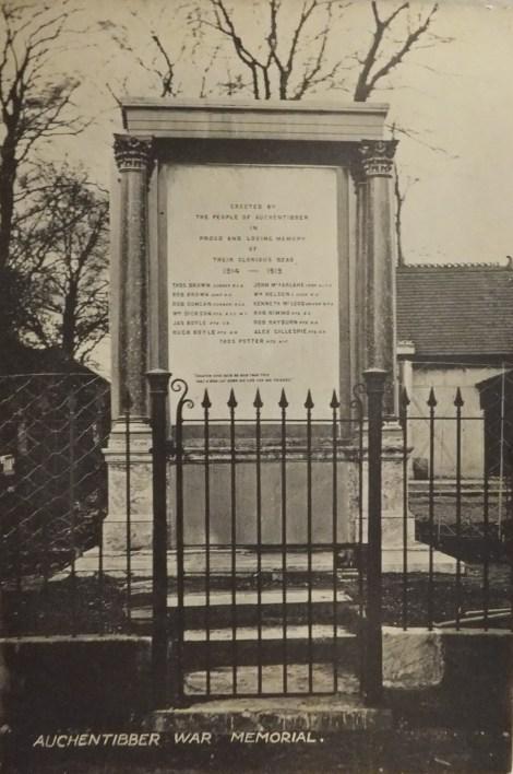 1922 War memorial pc
