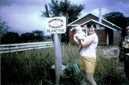 1969 Susan Wright with Richard (Blantyre Ontario)