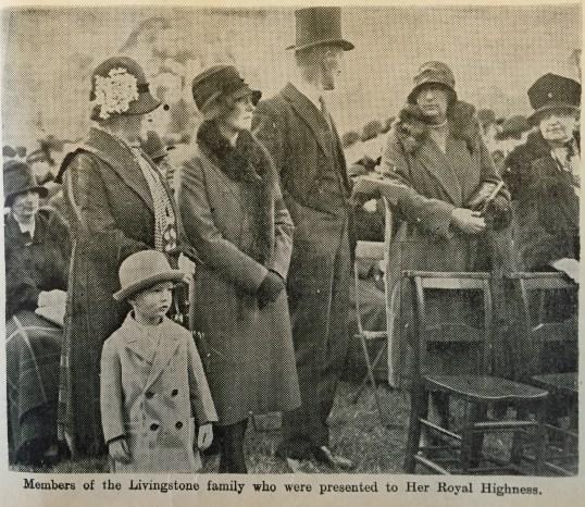 1929 Livingstone family members DLC opening