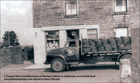 1950s Young & Sons at Hunthill Rd