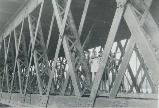 1963 Anthony Smith at Craighead Viaduct