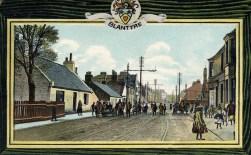 1906 Glasgow Road Postcard series