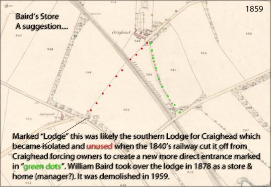 1859 bairds store