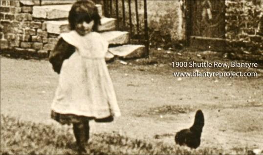 1900 Girl at SHuttle Row