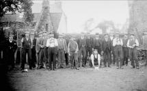 1908 Quoiting at Barnhill