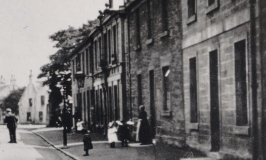 1920s Main Street HIgh Blantyre