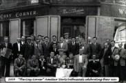1954 Cosy Corner Pub Darts Team. Shared by J Sanderson