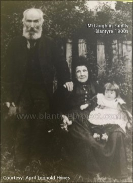 1910 McLaughlin family with Agnes Strang