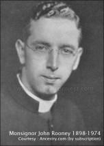 1924 Monsignor John Rooney