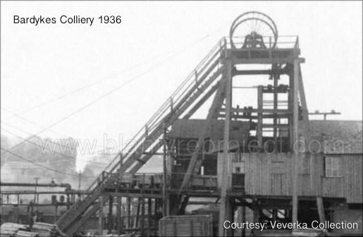 1936 Bardykes Colliery