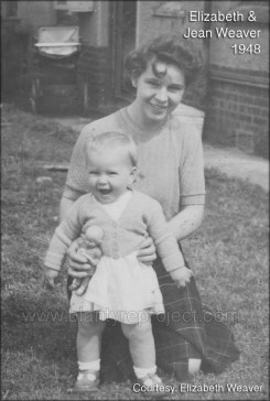 1948 Baby Betty and Jean Weaver