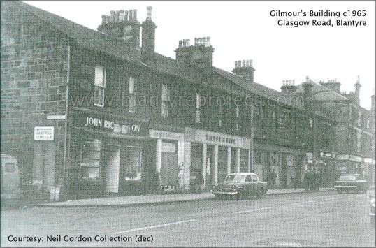 1965 Gilmours building Glasgow Rd wm