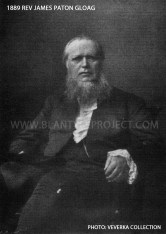 1889 Rev James Paton Gloag
