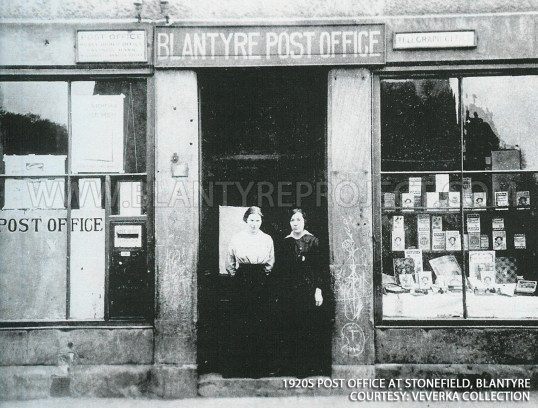 1920s Blantyre post office